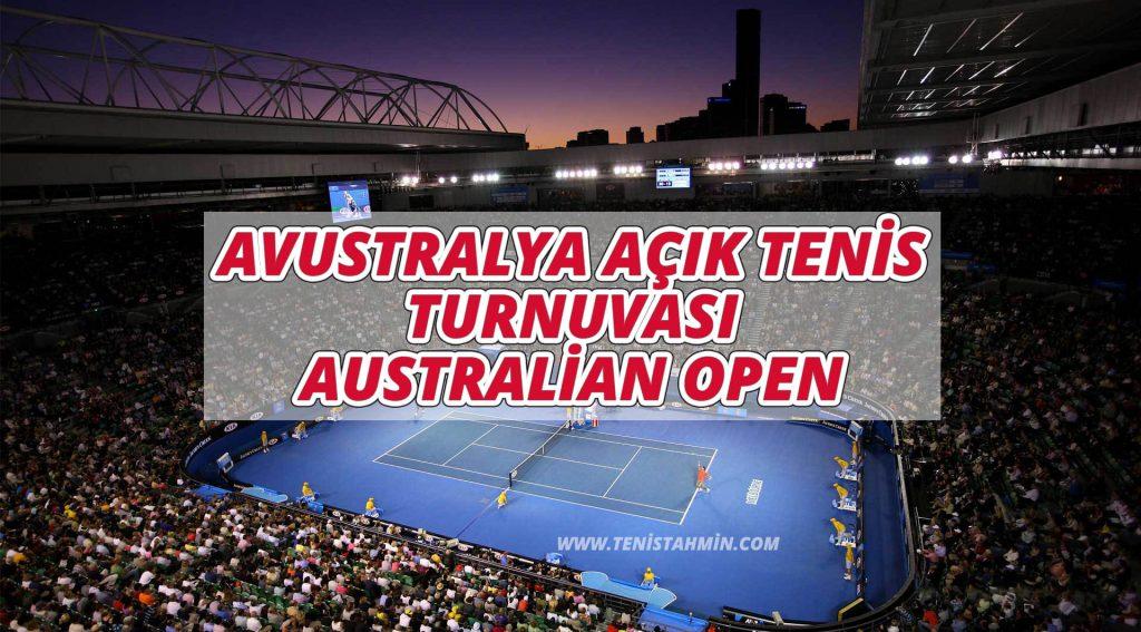 Avustralya Açık Tenis Turnuvası - Australian Open